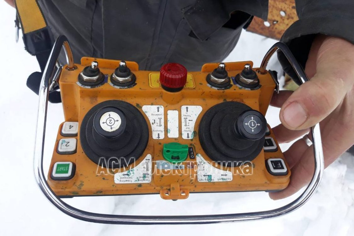 Радиоуправление для козлового крана