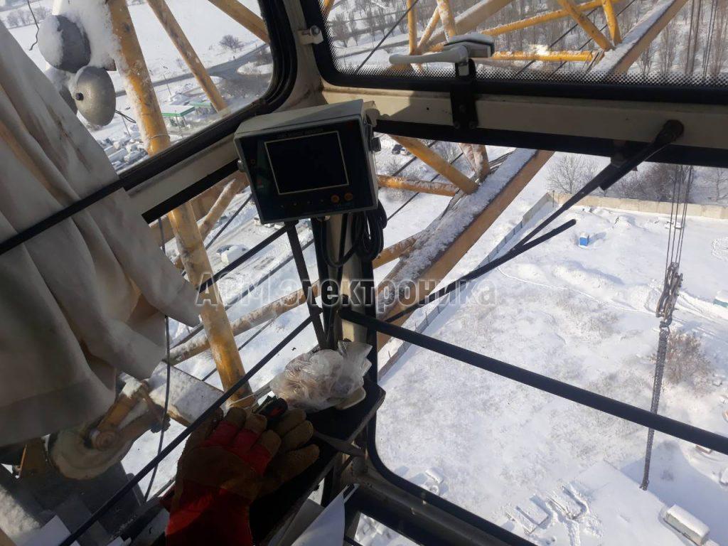 Ремонт башенного крана QTZ