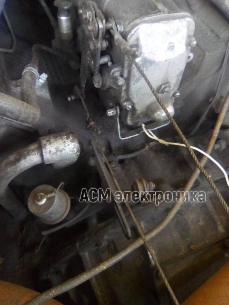 Установка ПЗК-30 на автокран МАЗ