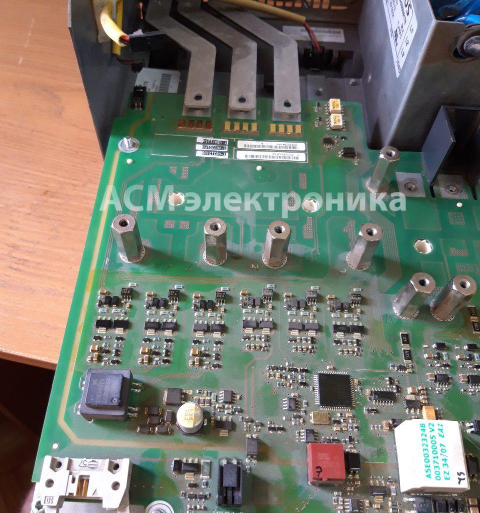 Ремонт преобразователя частоты Siemens