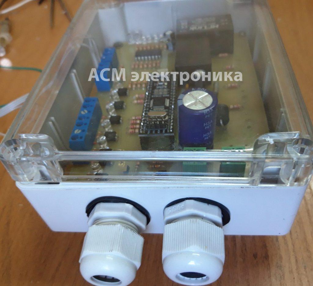Блок управления тормозной машиной крана QTZ