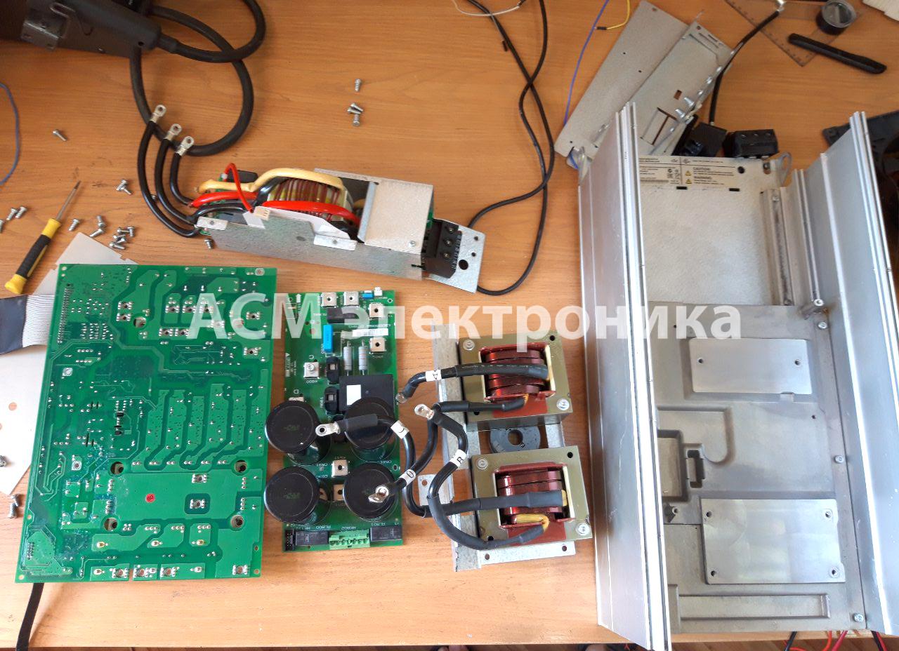 Ремонт преобразователя частоты Danfoss VLT 30 кВт