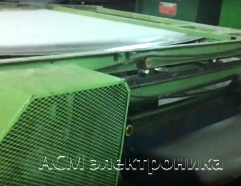 Модернизация и ремонт линии по производству синтепона