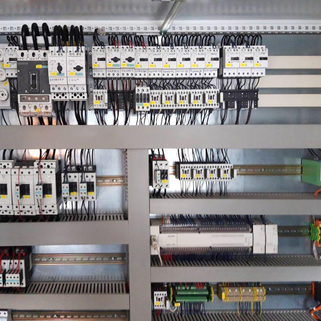 Пусконаладочные работі на линии Либхер по производству бетона