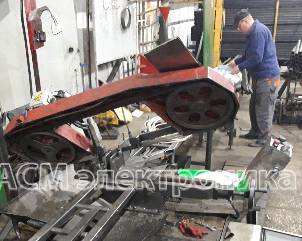 Ремонт станка по резке металла