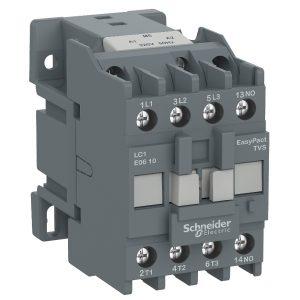 LC1E0610Q5 3-полюсовый контактор TeSys E - 1 НО, 2,2 кВт, 400 В, AC3, 380 В переменный ток
