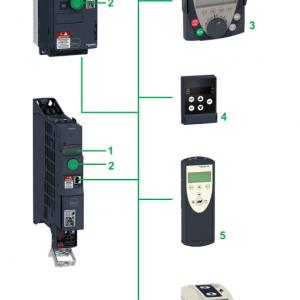 схемотехника ALTIVAR MACHINE ATV320 SCHNEIDER ELECTRIC