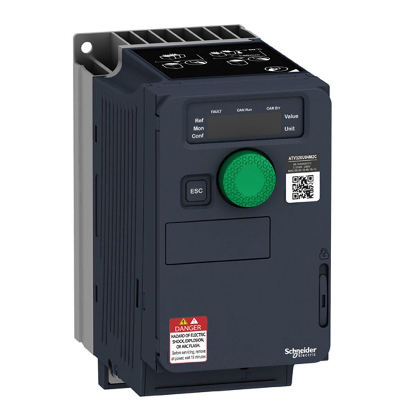 Преобразователь частоты Schneider ATV320U11M2C компактное исполнение 1.1 кВт 240В 1Ф