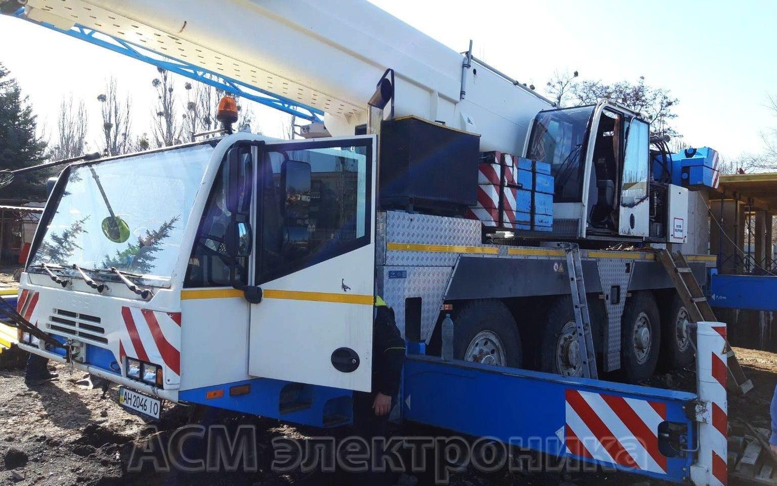 Ремонт автокрана TEREX-DEMAG AC 80-2