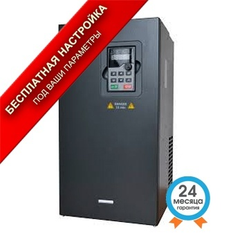 Преобразователь частоты GD200A-132G/160P-4 общепромышленный 132 кВт 380В 3Ф