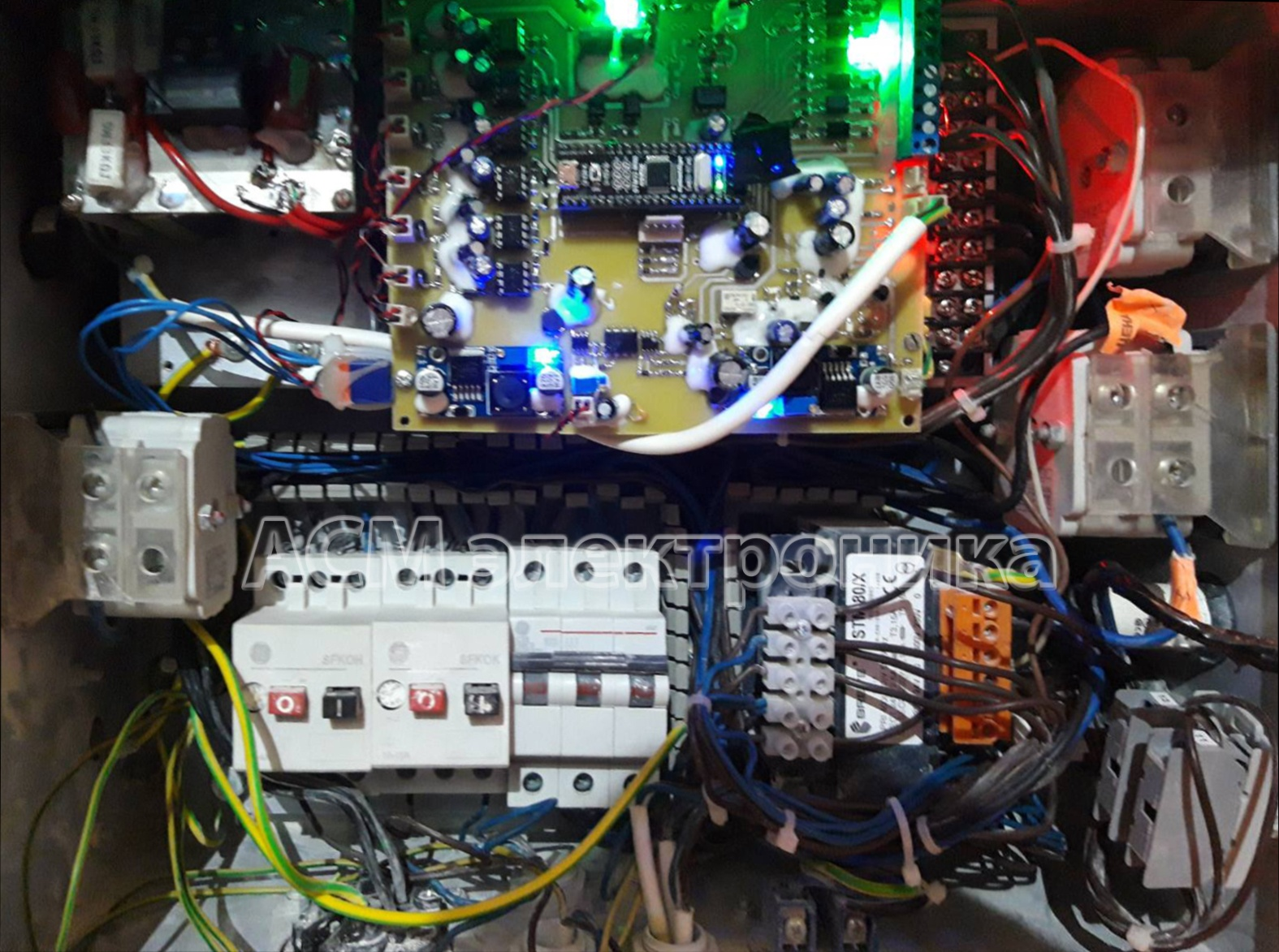 Разработка преобразователя частоты для штукатурной станции Kaleta 4