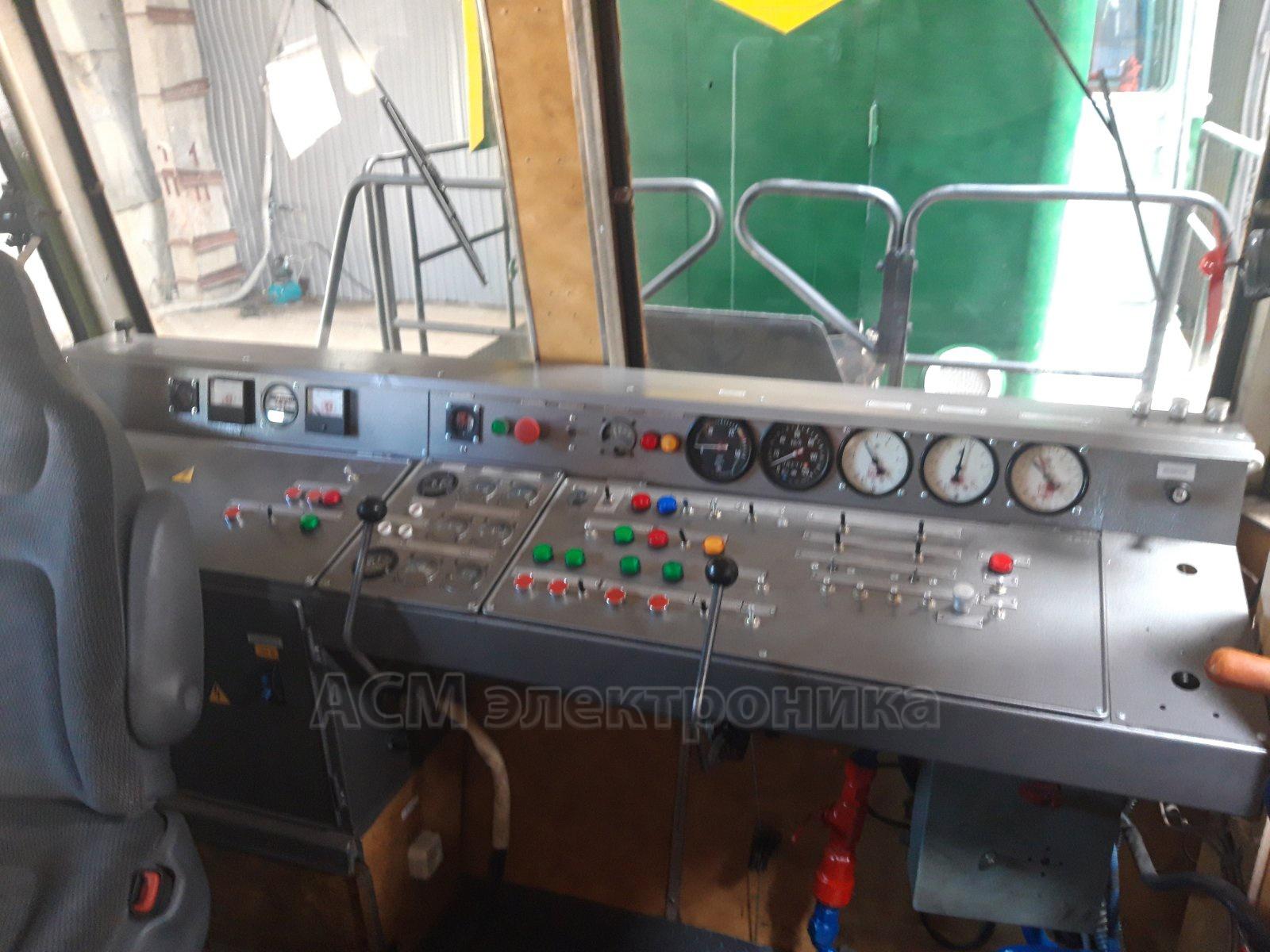 Настройка ОНК-140 для автомотрисы АДМ-1