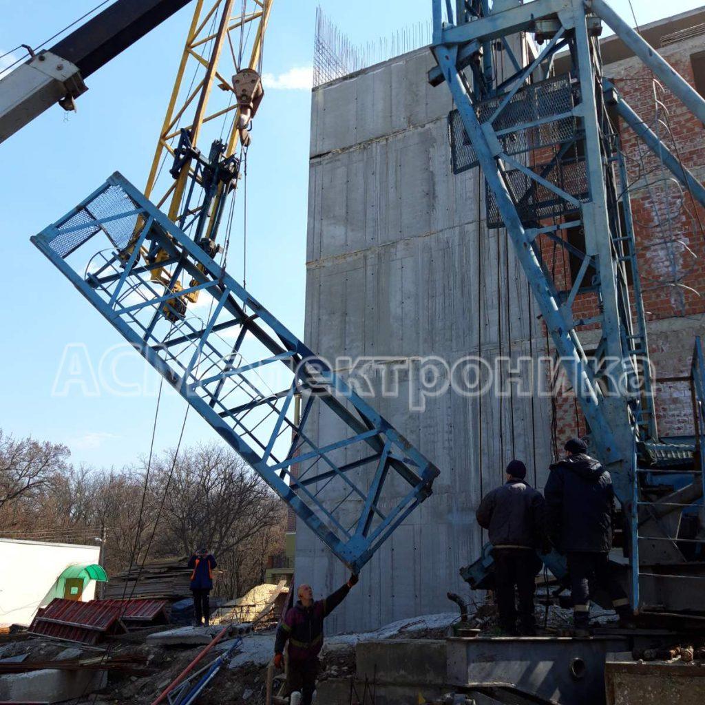 Капитальный ремонт башенных кранов