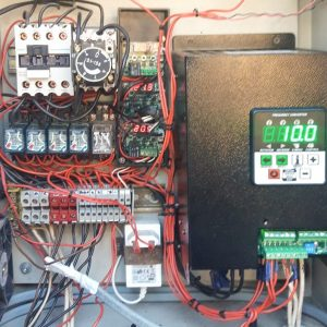 Установка частотного привода на кран КБ-403