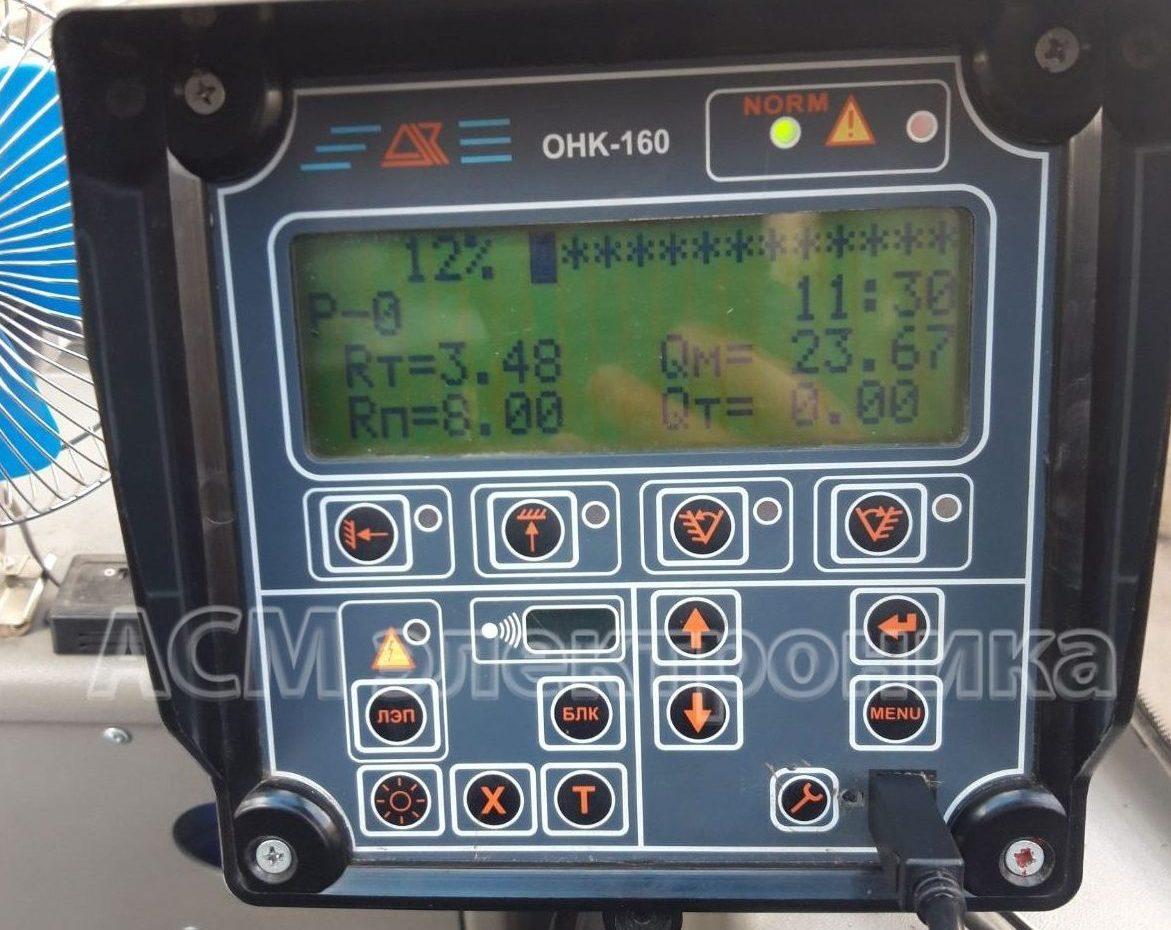Ремонт и наладка прибора безопасности крана ОНК-160С
