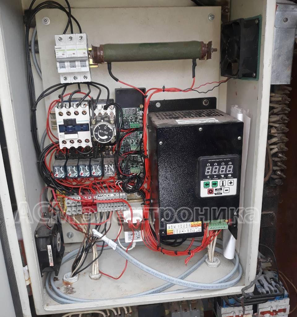Перевод кран КБ на частотный привод