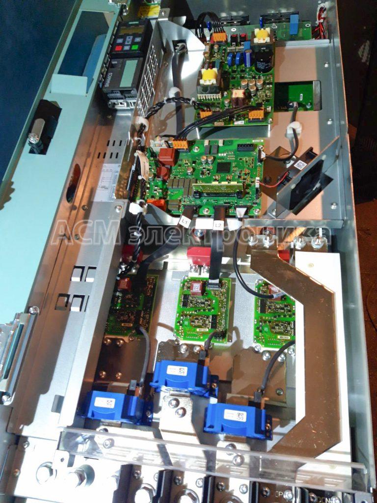Ремонт преобразователя частоты SINAMICS на 160 кВт