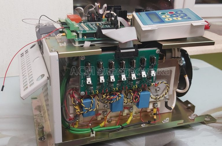 Ремонт преобразователя частоты Струм на 37 кВт