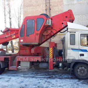 Изготовление и установка прибора безопасности для автовышки JINWOO 36 м.