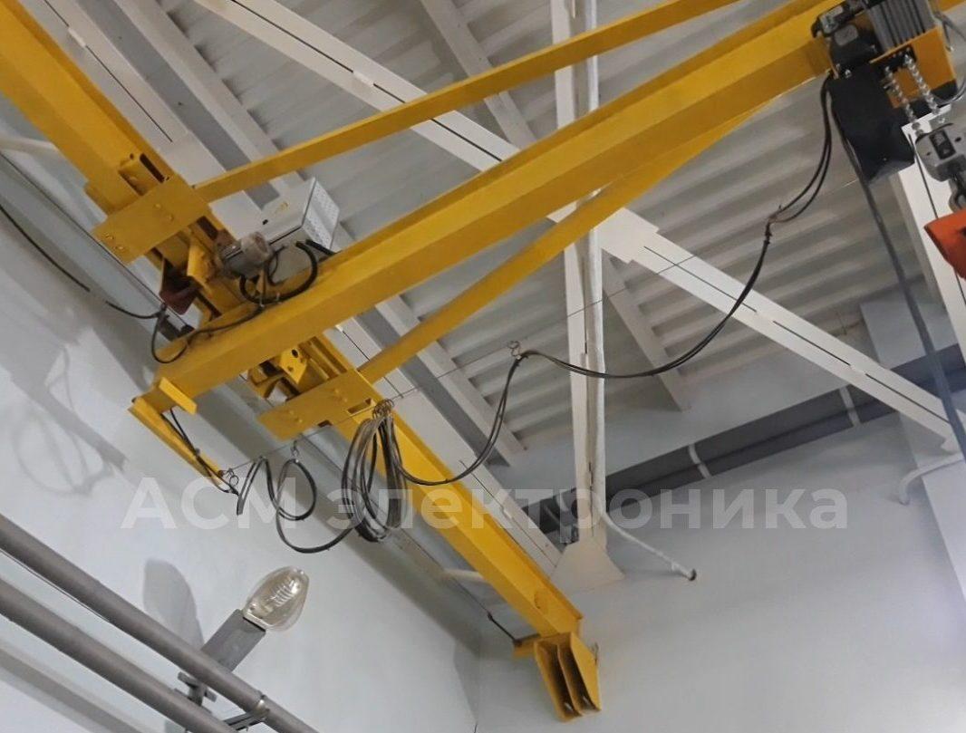Установка преобразователя частоты на ход моста кран-балки